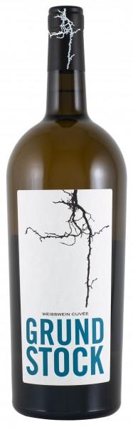 2017 Bechtolsheimer Petersberg, Grundstock Weisswein Cuvée Qualitätswein trocken - Magnumflasche