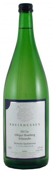 2017 Albiger Homberg, Scheurebe Qualitätswein