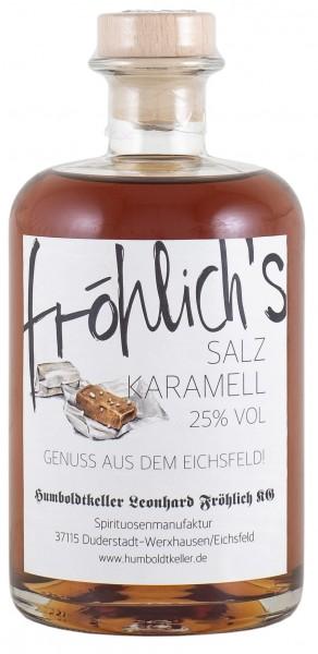 Fröhlich'S Salzkaramell-Likör 25% vol