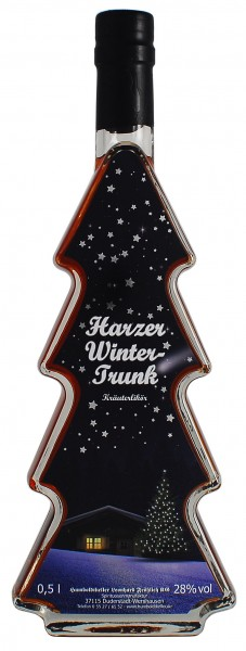 Harzer Winter-Trunk Kräuterlikör 28% vol.