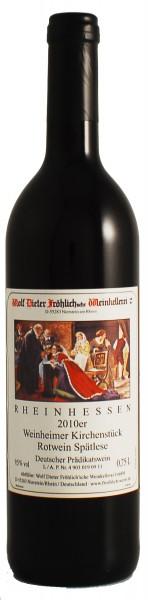 2010 Weinheimer Kirchenstück, Rotwein, Spätlese