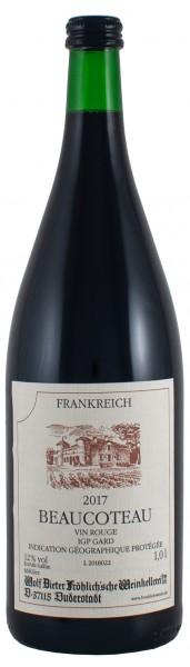 2017 Beaucoteau Vin rouge - IGP Gard