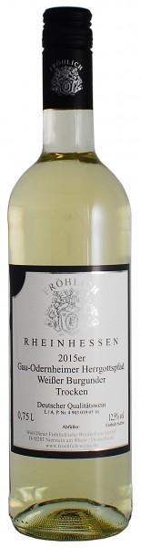 2015 Gau-Odernheimer Herrgottspfad, Weisser Burgunder Qualitätswein