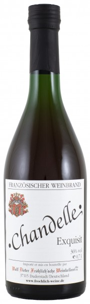 Froehlich Weine Chandelle Weinbrand