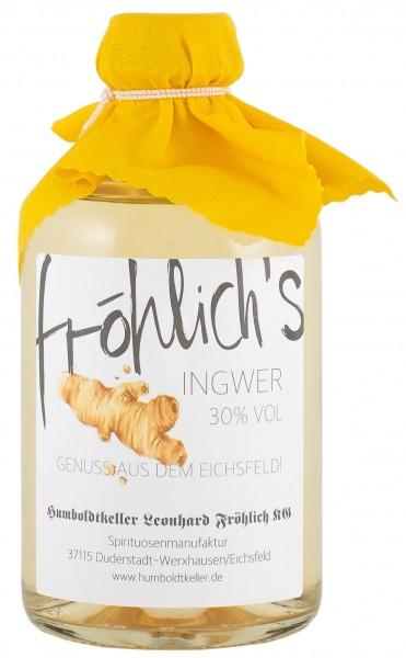 Fröhlich's Ingwerlikör 30% vol