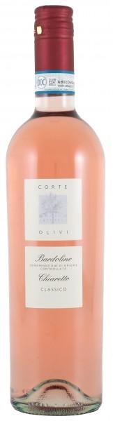 2018 Bardolino Chiaretto Classico DOC rosé