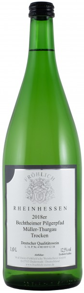 2018 Bechtolsheimer Pilgerpfad, Müller-Thurgau, Qualitätswein trocken
