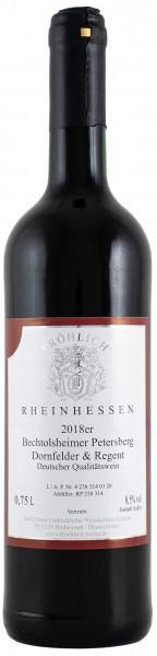 2018 Bechtolsheimer Petersberg Dornfelder-Regent Qualitätswein lieblich