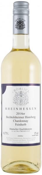 2014 Bechtolsheimer Homberg, QbA. Chardonnay