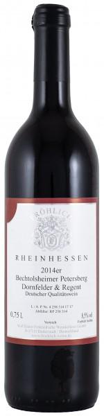 2014 Bechtolsheimer Petersberg, Dornfelder-Regent QbA