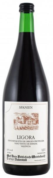2018 Ligora spanischer Rotwein DO